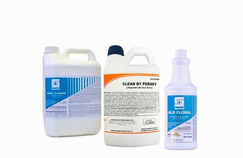 Produtos Químicos para Higienização e Limpeza Profissional