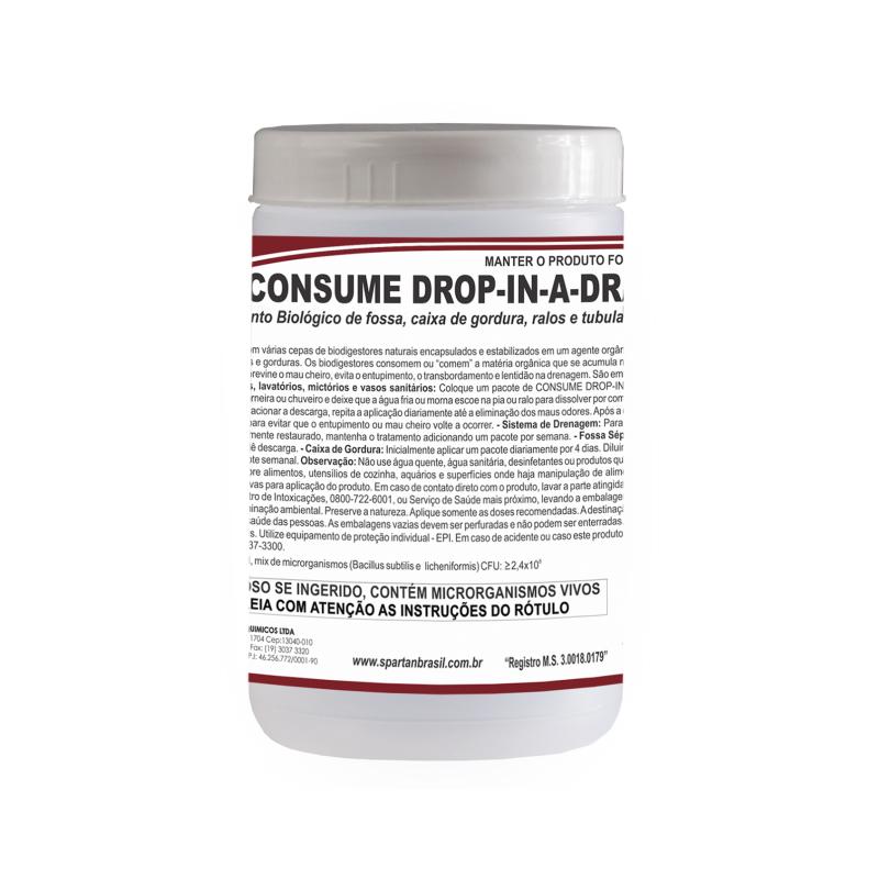 Consume Drop in a Drain