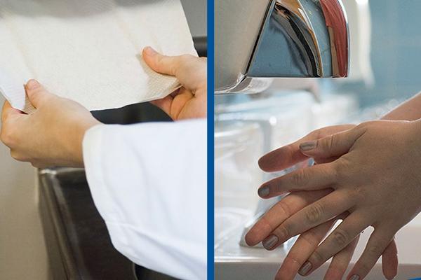 Toalha de Papel ou Secador de Ar: Qual o melhor?