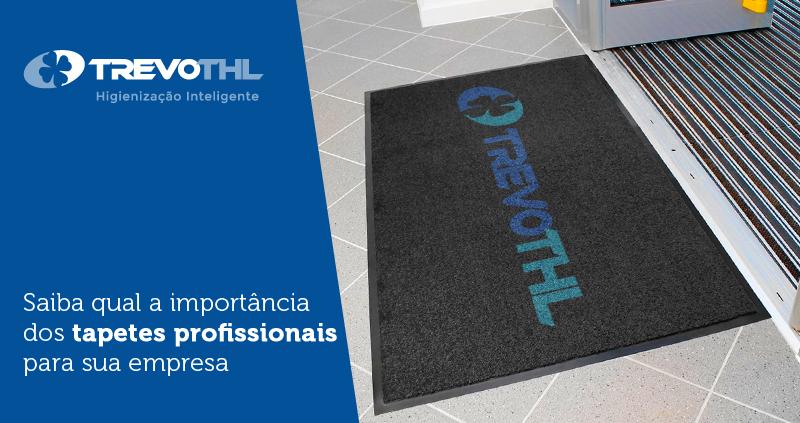Saiba qual a importância dos tapetes profissionais para sua empresa